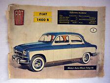 Micky´s Auto-Album Folge 66 - 1958 - FIAT 1400 B