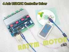 4 Axis Tb6560 Stepper Motor Driver Board Usb Cnc Controller Cardmanual Control