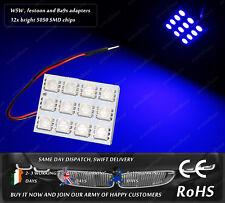 LED SMD Wedge T10 W5W 501 Festoon C5W 239 Ba9s T4W Blue Dome Interior Light Bulb