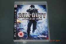 CALL OF DUTY WORLD AT WAR PS3 Playstation 3