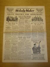 MELODY MAKER 1935 JAN 26 HAWK JOE LOSS LOUIS ARMSTRONG BIG BAND SWING