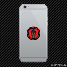 God Will Judge Our Enemies We'll Arrange The Meeting Cell Phone Sticker v6c