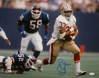Roger Craig Autographed 16x20 Against Giants Photo- JSA W Authenticated