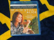 STILL ALICE BLU RAY W/DIGITAL- Julianne Moore, Alec Baldwin&Kristin Stewart-NEW