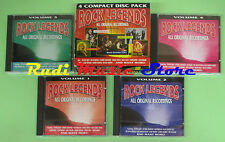 CD ROCK LEGENDS BOX 4CD compilation 1992 MOTORHEAD GIRLSCHOOL STATUS QUO (C18*)