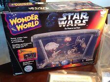 Star Wars 1995 Wonder World Aquarium Battle Scene Play Set