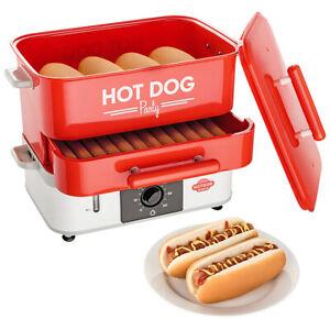 HOT DOG WORLD - Großer Hot Dog Maker  Party Hot Dog Steamer