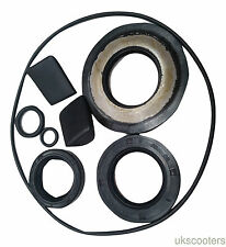 ukscooters VESPA OIL SEAL KIT ENGINE SEALS WITH PADS NEW PX LML STAR