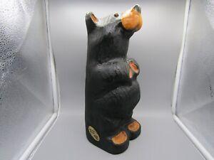 "Big Sky Bears Big Sky Carvers Standing Bear 13"", Jeff Fleming, Solid Wood"