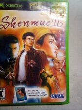 Shenmue 2 II (Microsoft Xbox, 2002) W Manual And Shenmue The Movie 360 Compatibl