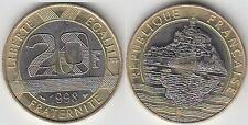 Gertbrolen 20 Francs Mont Saint-Michel 1998 BU Brillant Universel