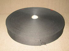 "2"" Black Nylon Webbing Type, About 75 yds"