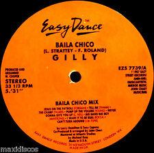 "12"" - GILLY - BAILA CHICO (VARIOUS HOUSE) EASY STREET R. UK 1987 MINT, LISTEN"