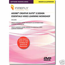 Adobe Creative Suite 3 Training DVD Indesign Photoshop