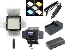 Yongnuo YN-160 LED Video Light + 4400mA Battery +Charger For Camera Camcorder