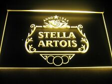 Stella Artois Logo Beer Bar Pub Store Light Sign Neon W3201 NEW