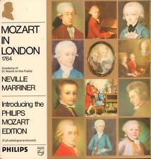 Mozart(Vinyl LP Gatefold)In London Neville Marriner-philips-6833 222-Ho-VG+/NM