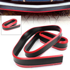 Lower Lip Protective Strip Bumper Skirts Rubber Anti-Scratch 2.5M New Auto