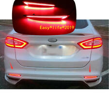 For Ford Mondeo Fusion 2013 - 2018 LED Rear Fog Lamp Bumper LED Brake Light
