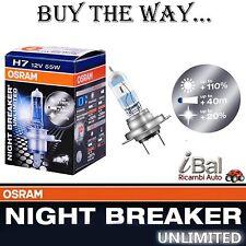 OSRAM LAMPADINE 64210NBU H7 12V 55W ATT. PX26d NIGHT BREAKER UNLIMITED 1 LAMPADA