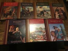 THE GREAT CLASSICS FOR CHILDREN HARDCOVER ILLUSTRATED SET OF 7