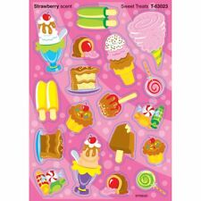 Sweet Treats/Strawberry Stinky Stickers® – Mixed Shapes Trend Enterprises Inc. T