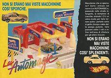 X1343 Lav'Automagic - Hot Wheels Mattel - Pubblicità del 1989 - Vintage advert