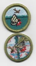 "Nature (Dk-Green Grass Ver)Merit Badge, Type L, ""Since 1910"" Back (2012-Current)"