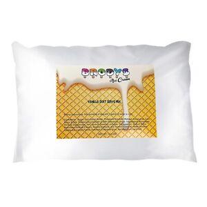 Brodys Soft Serve Mix, Vanilla, 3 lb Bag