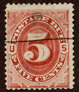 USA, J18, Postage Due, Red Brown, Used