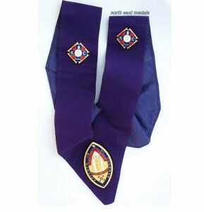 Knights of St Columba Neck Sash/Collar with Badges