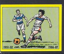 Panini Football 1987 Sticker No 406 - Q.P.R Playing Strip (S1461)