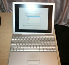 "Apple PowerBook G4 12"" 1.5 GHz PowerPC G4 80 GB HDD 512 MB RAM TESTED WORKING"