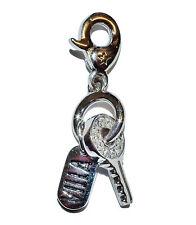 """Habillées véritable TI SENTO Charming Argent 925 & Zircon Cubique """"clé"""" CHARME #1"""