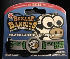 Beware Bandits Allergy Awareness Bands Dairy New In Package Kid Friendly