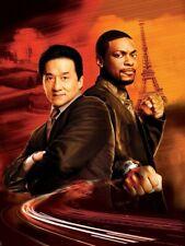 Rush Hour Jackie Chan Chris Tucker Movie Wall Print POSTER FR