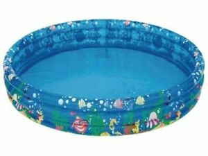 "Palgrave/Palmax Aqua Tropical 48""x10"" Inflatable Children's Paddling Pool"