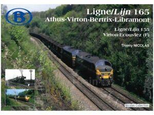 NicolasCollection 978-2-930748-46-7T Buch SNCB/NMBS Lijn 165 + 155 FR/NL Neu+OVP