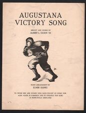 Augustana Victory Song 1923  Sheet Music