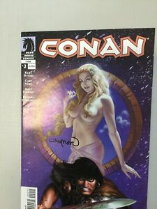 Conan 2 Signed By Cary Nord Dark Horse Comics (CN03)