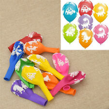 10 Pcs Multicolor Balloons Cartoon Dinosaur Printed Lovely Home Party Ornament