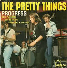 EP FRENCH BIEM THE PRETTY THINGS 1966