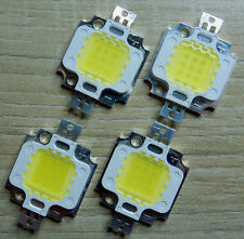 4 Stk. 10 W LED Chip kw,  9 - 10V, 45*45 mil,1000 Lm, High Power, COB, Aquarium