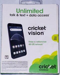 "Brand NEW Cricket Vision 4G LTE Prepaid Smartphone 5.5"" Screen"
