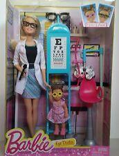 Barbie Careers EYE DOCTOR Opthamologist Barbie Doll  CMF42 - BRAND NEW!!
