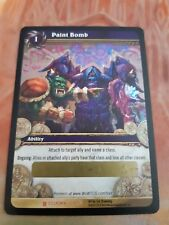 WoW TCG PAINT BOMB Unscratched Loot Card - World of Warcraft