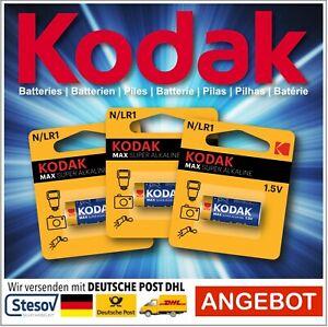 Kodak Batteries Lady N/LR1 MN9100 E90 910A 1,5V