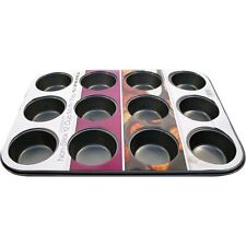 Stainless Steel Muffin Pans & Baking Moulds Non-Stick