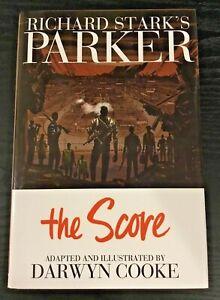 RICHARD STARKS PARKER THE SCORE  HARDCOVER Crime Noir Graphic Novel Darwyn Cooke