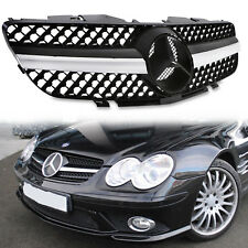 SPORT RADIATOR GRILL GRILLE FOR MERCEDES BENZ SL CLASS R230 280 300 350 02-07